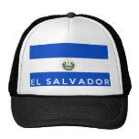 salvador country flag symbol name text hat