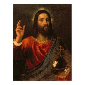 Salvador de Cristo, c.1570 Tarjeta Postal