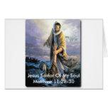 Salvador de Jesús de mi alma Tarjeton