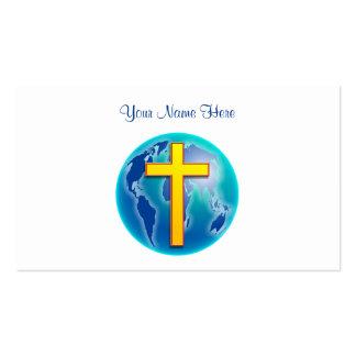 Salvador del mundo, su nombre aquí tarjetas de visita