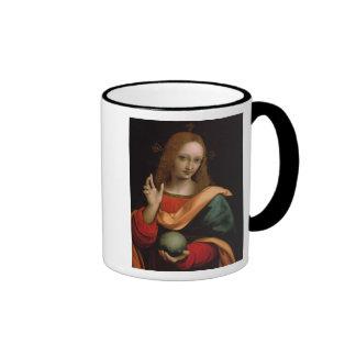 Salvador del mundo tazas de café