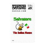Salvador el ratón italiano estampilla