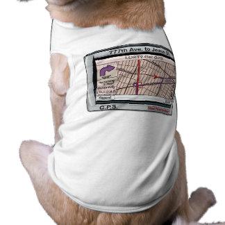 Salvador personal de dios de GPS Camisa De Perro