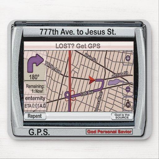 Salvador personal de dios de GPS Tapete De Ratones