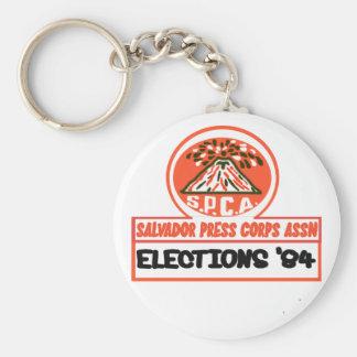 Salvador Press Assn 1984 Keychain