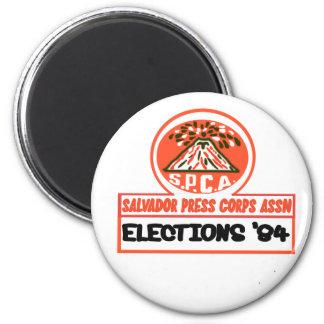Salvador Press Assn 1984 2 Inch Round Magnet