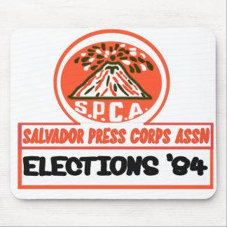 Salvador Press Assn 1984 Mouse Pad