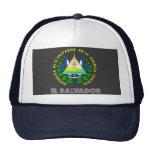 Salvadoran Emblem Mesh Hats