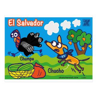 Salvadoran gifts of Chuncheretal Postcard