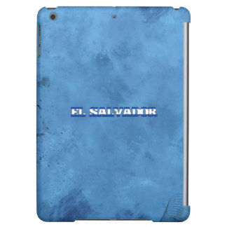 Salvadoran name and flag on cool wall case for iPad air
