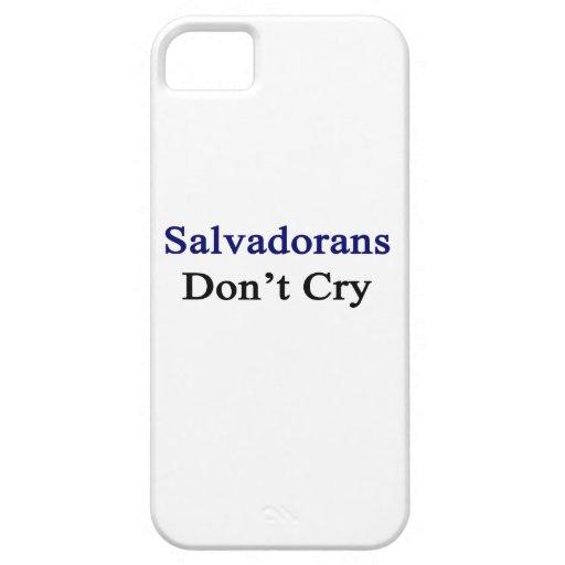 Salvadoreños no lloran iPhone 5 carcasa