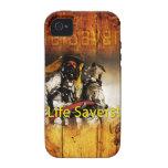 ¡Salvadores! iPhone 4, caso del ambiente Case-Mate iPhone 4 Carcasa