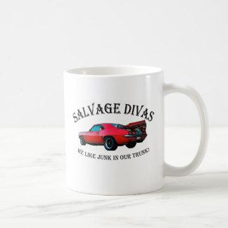 Salvage Divas Coffee Mugs