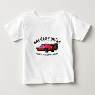 Salvage Divas Junk in the trunk Baby T-Shirt