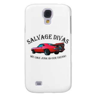 Salvage Divas Junk in the trunk Samsung Galaxy S4 Cover
