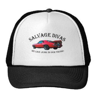 Salvage Divas Junk in the trunk Trucker Hat