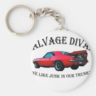 Salvage Divas Keychain