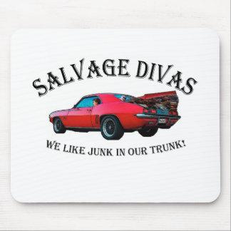 Salvage Divas Mouse Pads