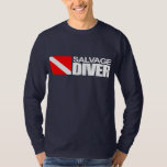Salvage Diver 4 Apparel T-shirts