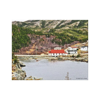 Salvage Newfoundland Canvas Print