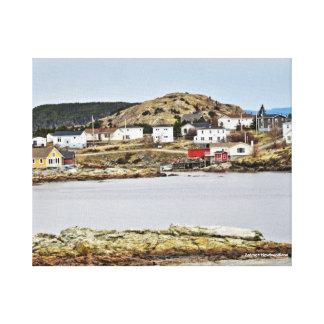 Salvage Newfoundland Eye Candy Canvas Print