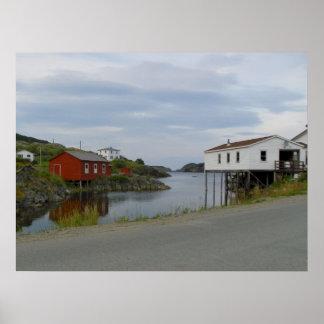 Salvage, Newfoundland Poster