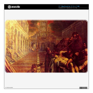 Salvage of the corpse of St. Mark by Tintoretto MacBook Decals