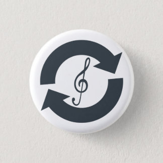 """Salvage Sounds"" Button Badge"