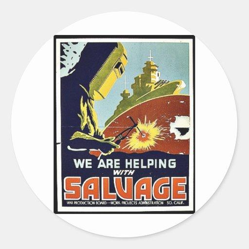 Salvage Sticker