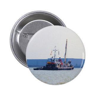 Salvage Vessel Hookness 2 Inch Round Button