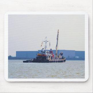 Salvage Vessel Hookness Mousepad
