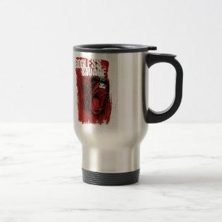 Salvaje ateo taza de café