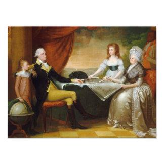 Salvaje de Edward la familia de Washington Fotografía