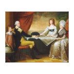 Salvaje de Edward la familia de Washington Lona Envuelta Para Galerías
