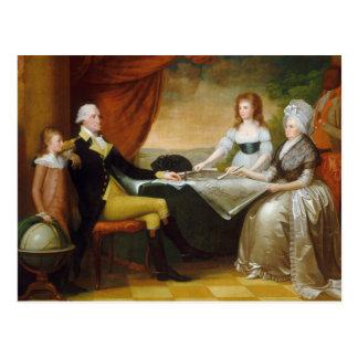 Salvaje de Edward la familia de Washington Postales
