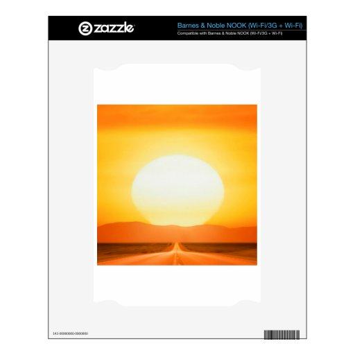 Salvaje de la puesta del sol skins para elNOOK