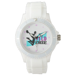 Salvaje sobre alegría relojes de pulsera