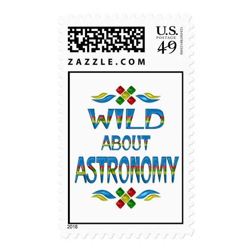 Salvaje sobre astronomía