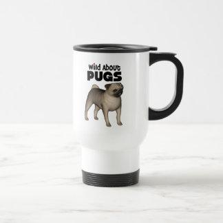 salvaje sobre barros amasados tazas de café