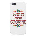 Salvaje sobre cocinar iPhone 5 fundas