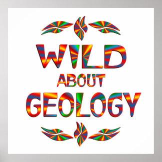 Salvaje sobre la geología poster