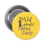 Salvaje sobre los gatos salvajes - gato salvaje di pin