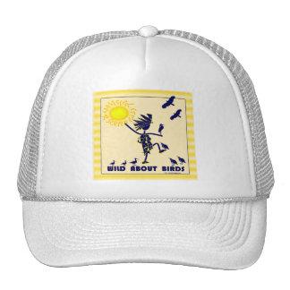 Salvaje sobre los pájaros - observación de pájaros gorras