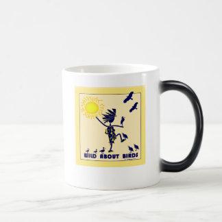Salvaje sobre los pájaros - observación de pájaros tazas de café
