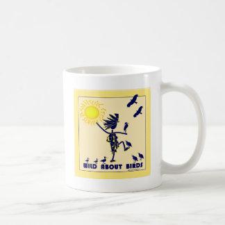 Salvaje sobre los pájaros - observación de pájaros taza