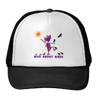 Salvaje sobre pájaros gorra