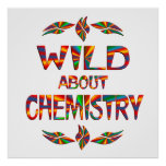 Salvaje sobre química poster
