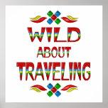 Salvaje sobre viajar posters