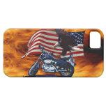 Salvaje y libere - Eagle patriótico, la moto y la  iPhone 5 Cobertura