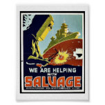 Salvamento Posters
